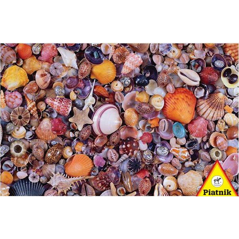 Puzzle Pêle-mêle de coquillages Piatnik