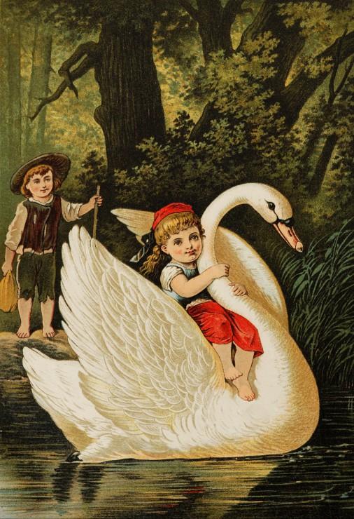 Puzzle Pièces XXL - Hansel et Gretel, illustration par Carl Offterdinger