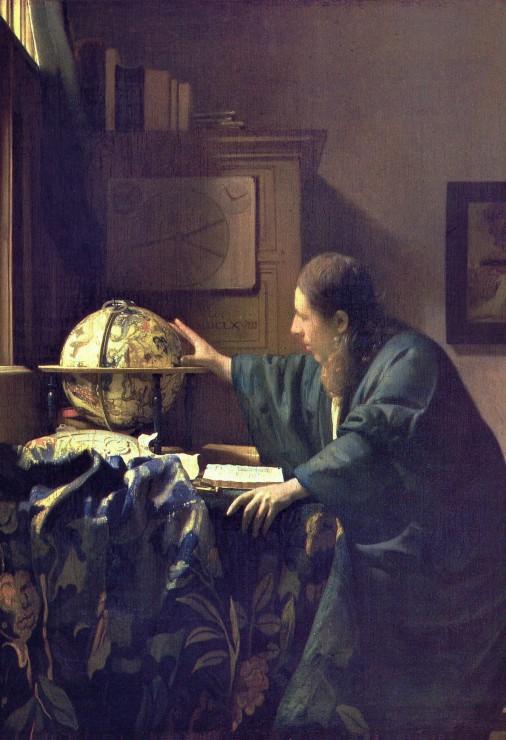 Puzzle Pièces XXL - Vermeer Johannes : L´Astronome, 1668 Grafika Kids