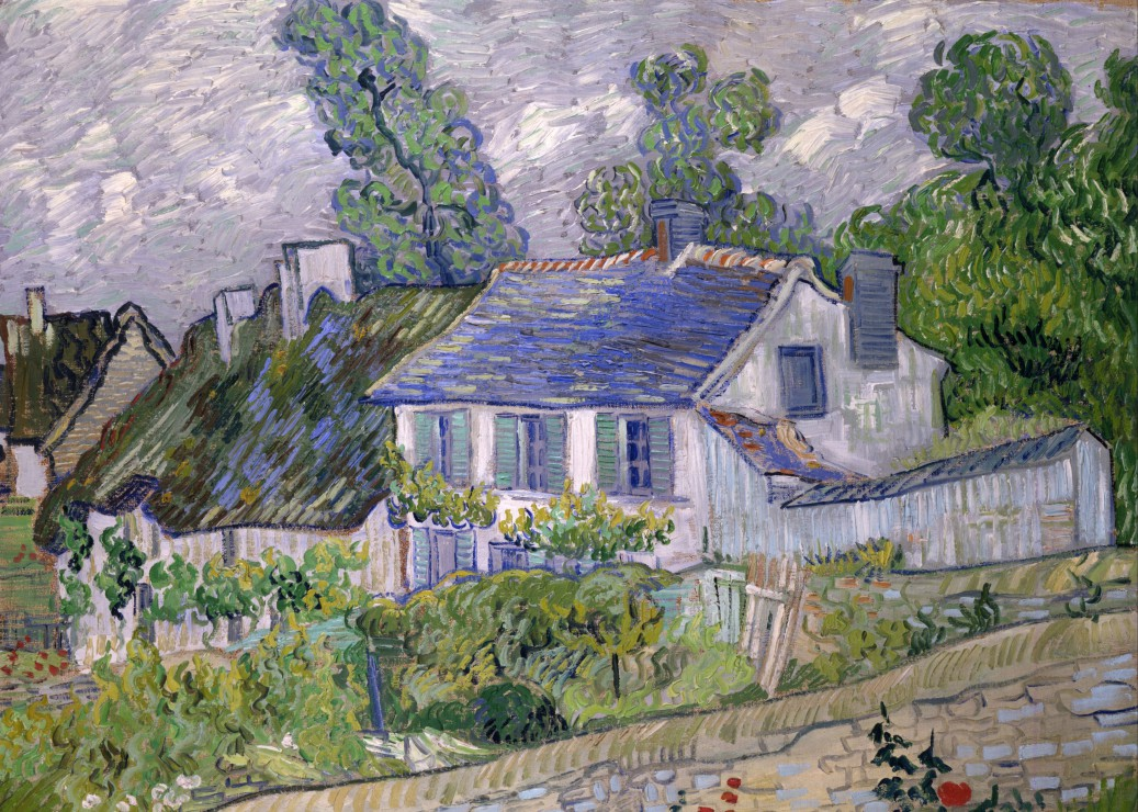 Puzzle Pièces Magnétiques - Van Gogh Vincent : Maison à Auvers, 1890