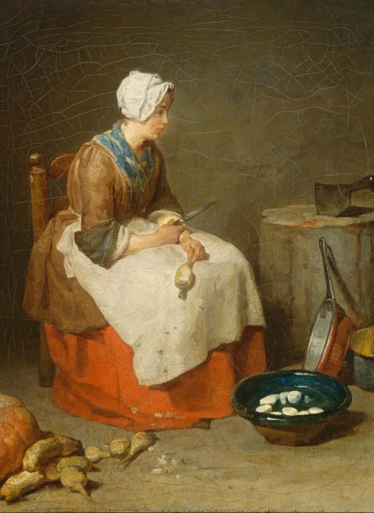 Puzzle Jean Siméon Chardin : La Fille de Cuisine, 1738 Grafika Kids