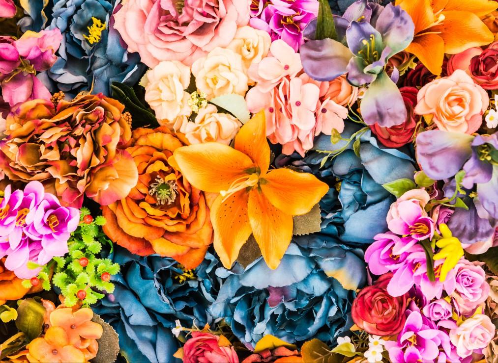 Puzzle Bouquet Vintage de Fleurs Artificielles Grafika Kids