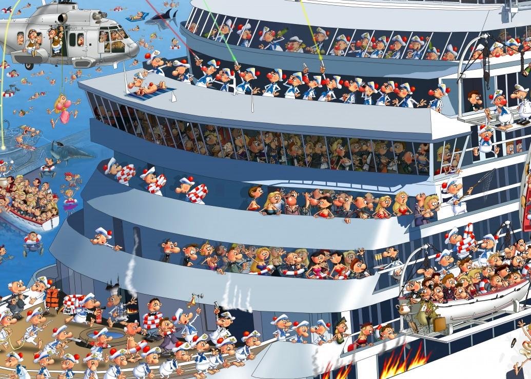 Puzzle Pièces magnétiques - François Ruyer: Croisière Grafika Kids