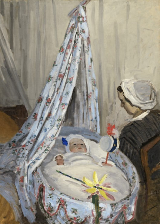 Puzzle Pièces magnétiques - Claude Monet - The Cradle - Camille with the Arti