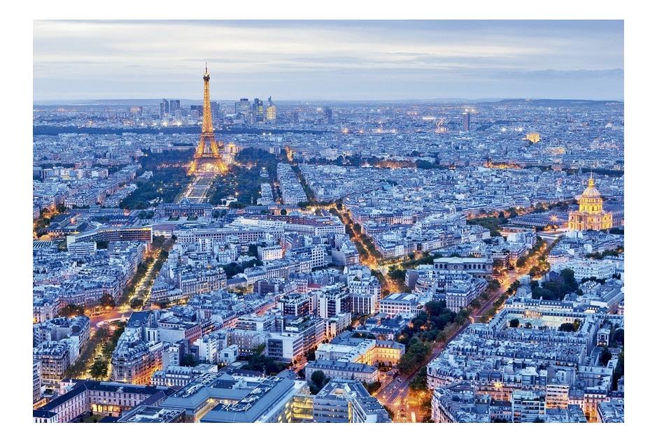 Puzzle Lumières de Paris Educa