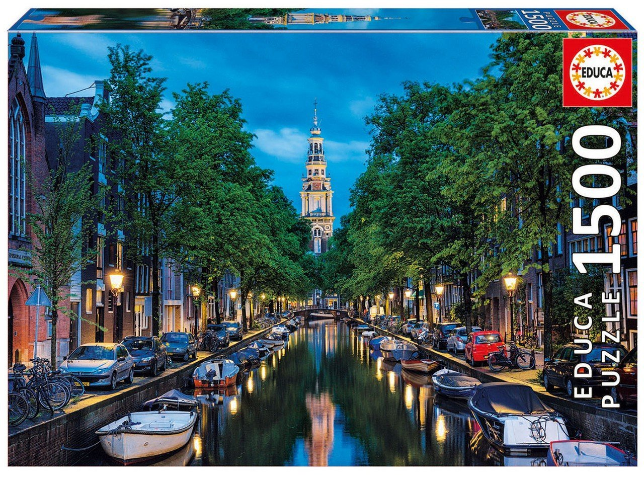 Puzzle Amsterdam Educa