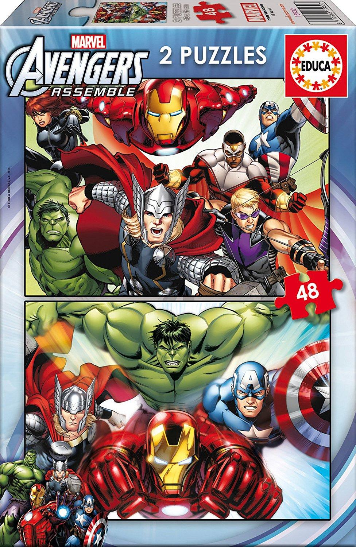 2 Puzzles - Avengers Educa