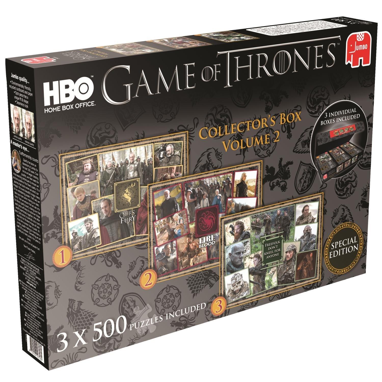 3 Puzzles - Game of Thrones Jumbo