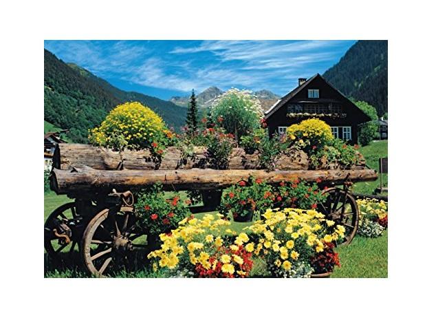 Puzzle Fleurs des Alpes Jumbo