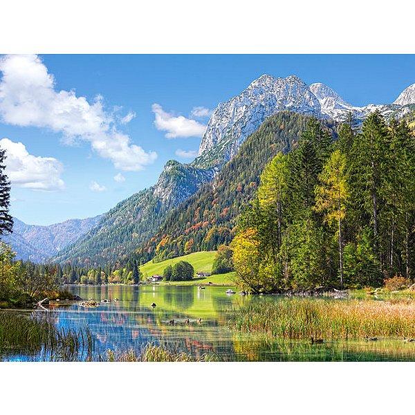 Puzzle Refuge au pied des Alpes Castorland
