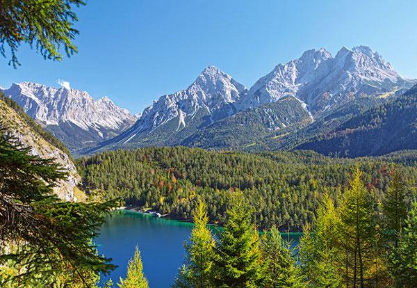 Puzzle Autriche : Lac dans les Alpes Castorland