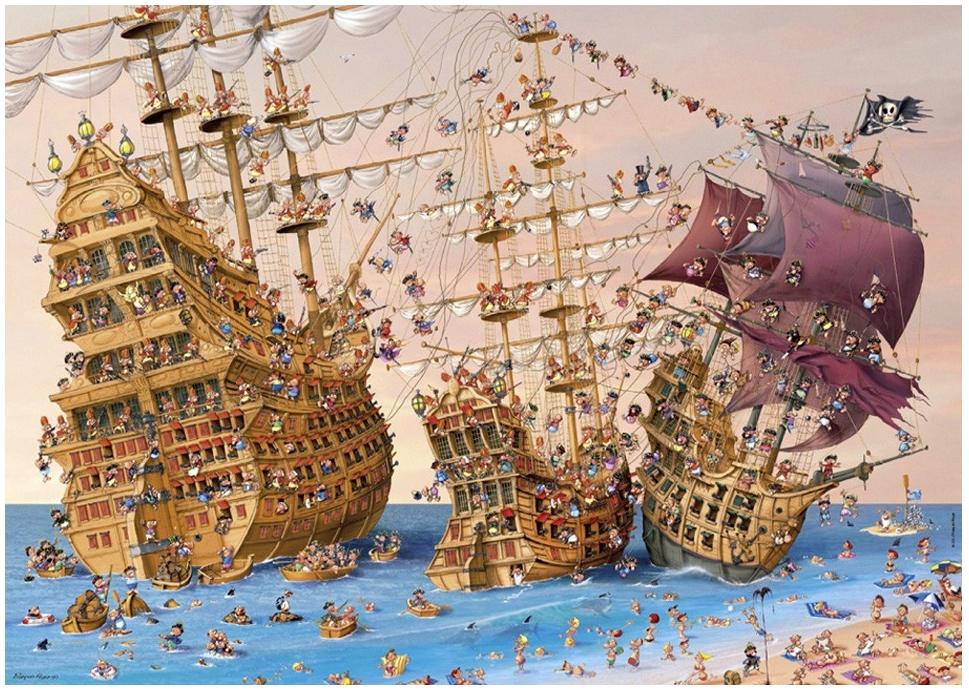 Puzzle Ruyer : Corsaires Heye
