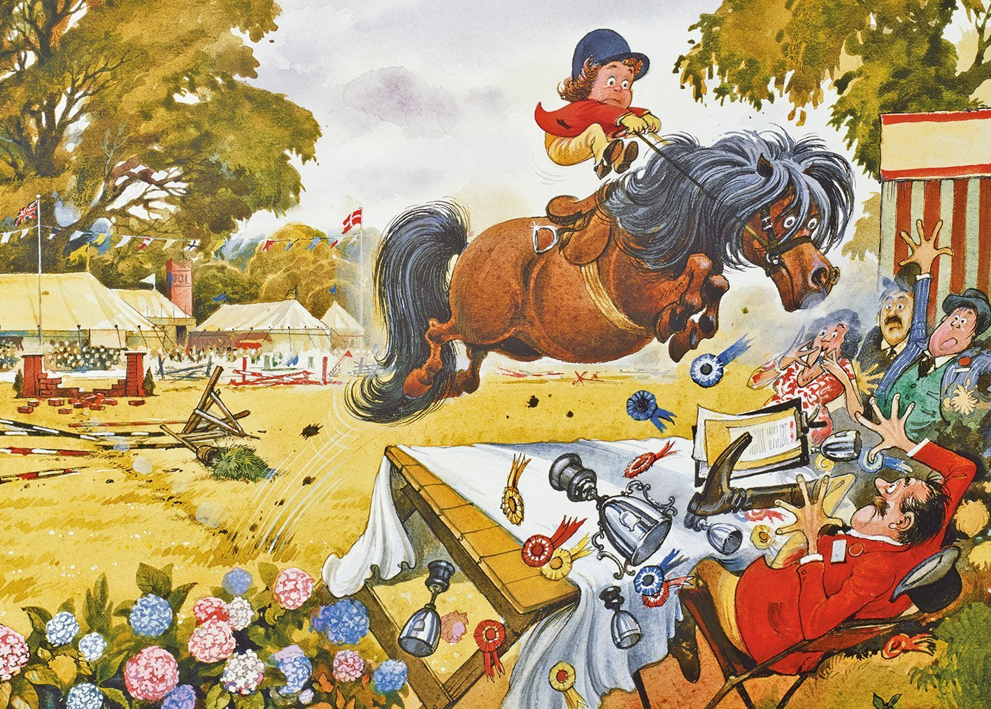 Puzzle Thelwell - Up for the Cup Gibsons