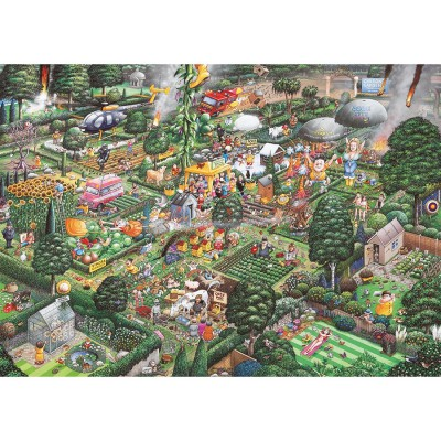 Gibsons Jardiner Puzzles 1000 Pièces G811 Et Puzzle J'aime Humour vmN8wPyn0O
