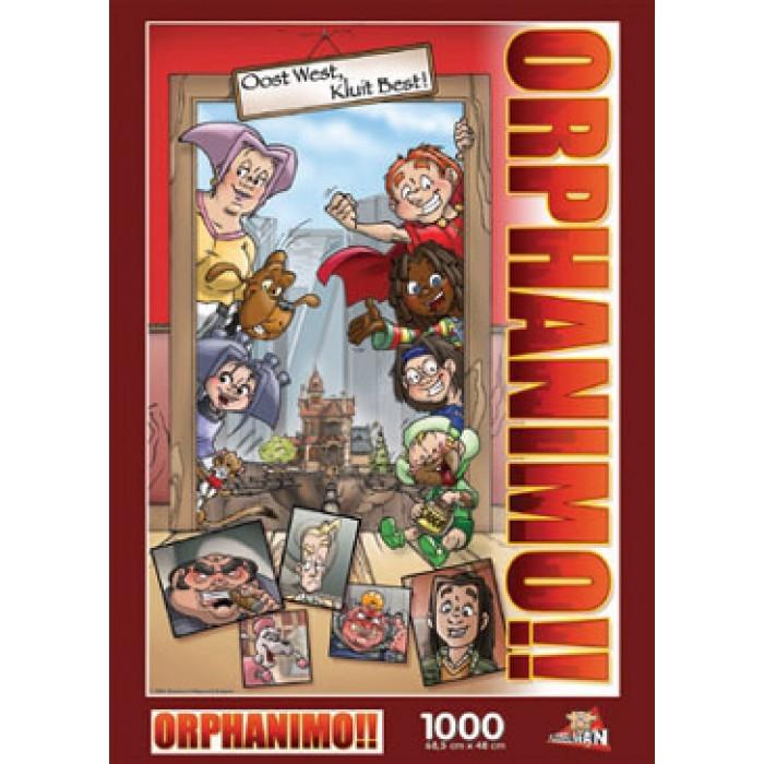 Puzzle Orphanimo : Famille PuzzelMan