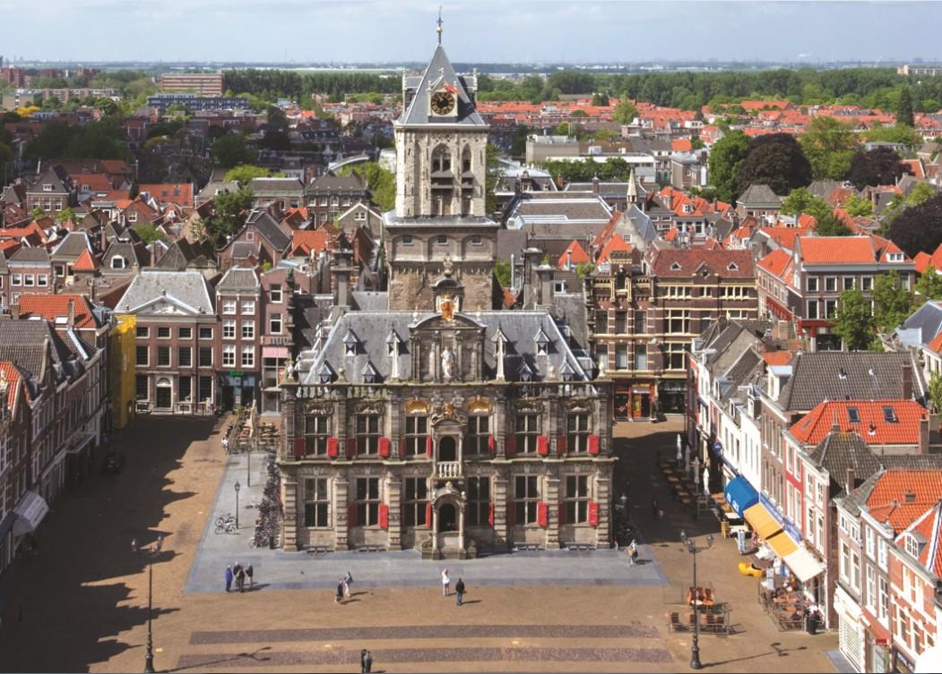Puzzle Pays Bas, Delft : Hôtel de ville PuzzelMan