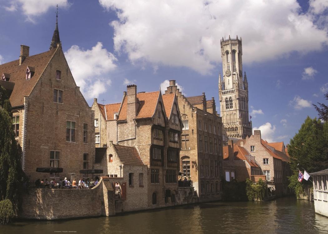 Puzzle Belgique : Bruges PuzzelMan