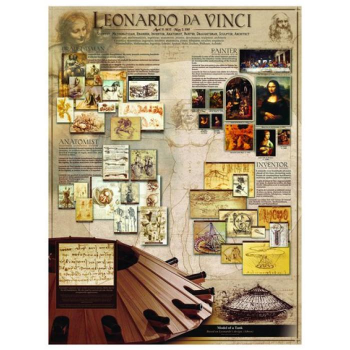 Puzzle Léonard de Vinci Eurographics