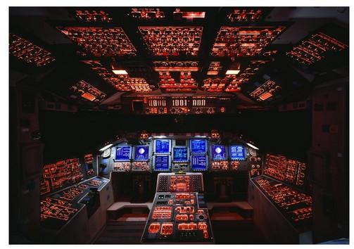 Puzzle Cockpit de la navette spatiale Columbia NASA Eurographics