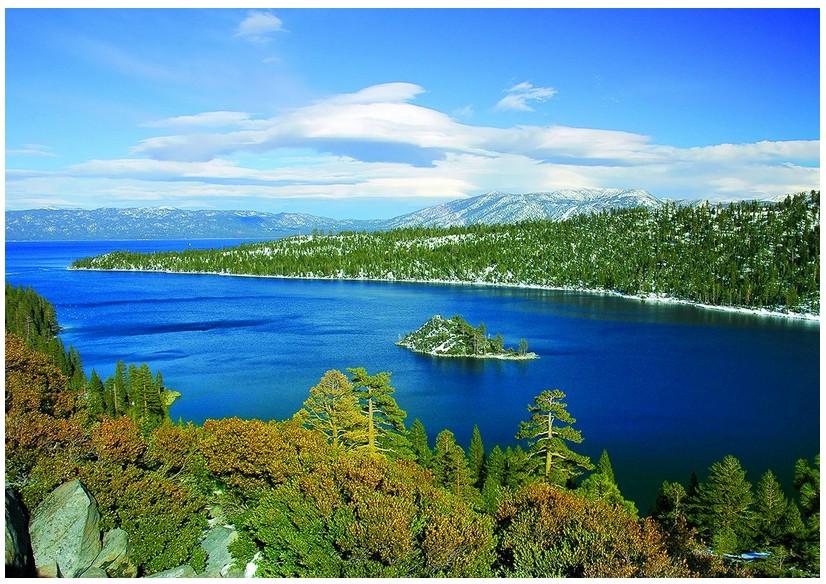 Puzzle Lac Tahoe - Baie d´émeraude Californie Eurographics