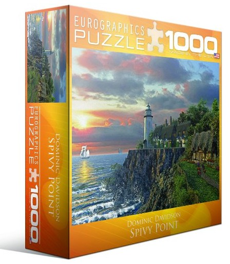 Puzzle Dominic Davison: Spivy Point Eurographics