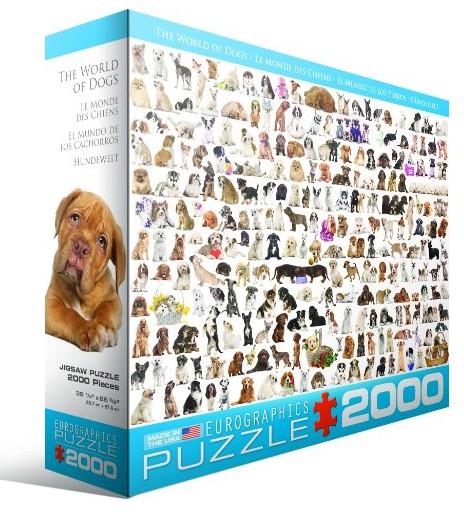 Puzzle Chiens Eurographics