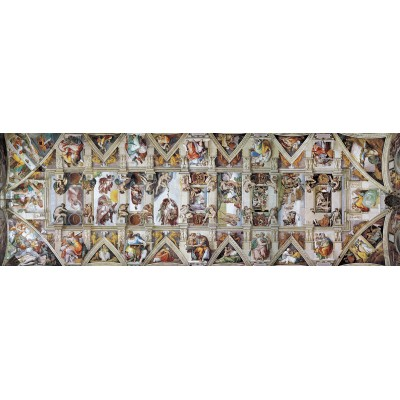 6010 Puzzle By Eurographics Chapel Ceiling Michelangelo Sistine The rdtQhs