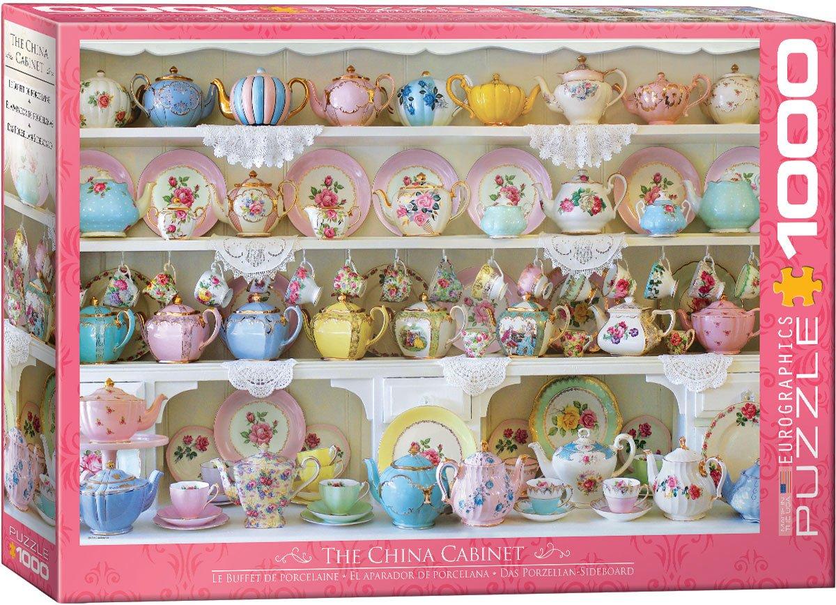 Puzzle 1000 pièces Le Buffet de Porcelaine Eurographics