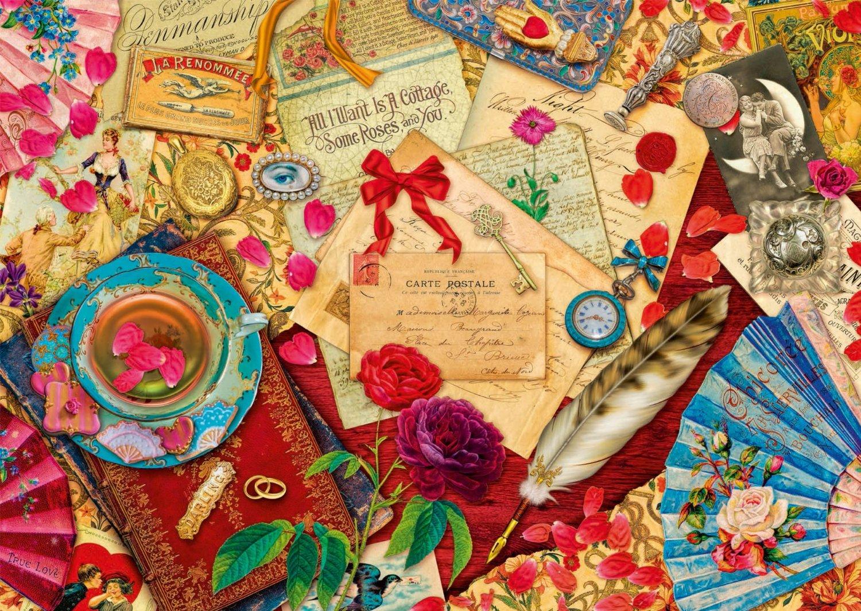 Puzzle Lettres d´Amour Vintage Schmidt Spiele