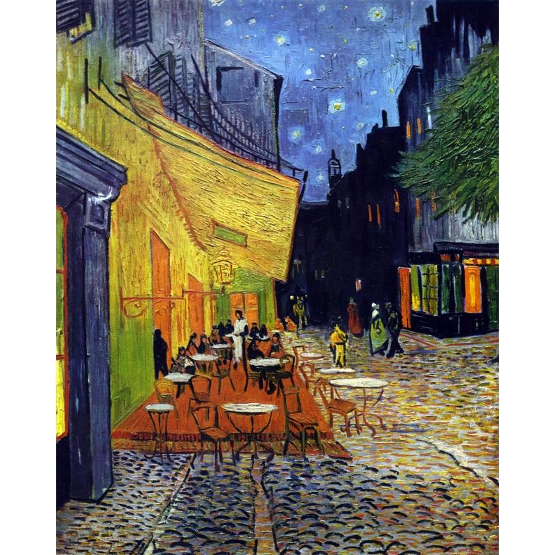 Puzzle Van Gogh : Le Café le Soir Puzzle Michèle Wilson