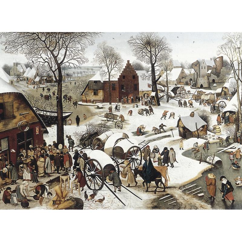 Puzzle Brueghel : Le dénombrement de Bethléem Puzzle Michèle Wilson