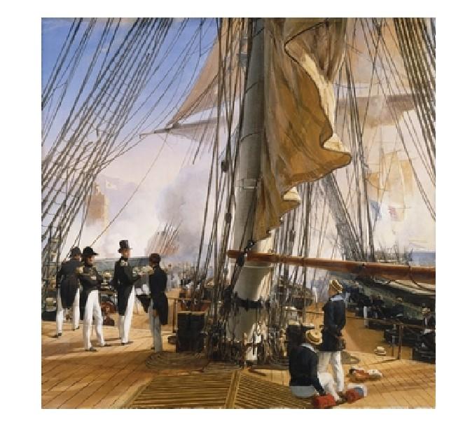 Puzzle Vernet : La flotte française Puzzle Michèle Wilson