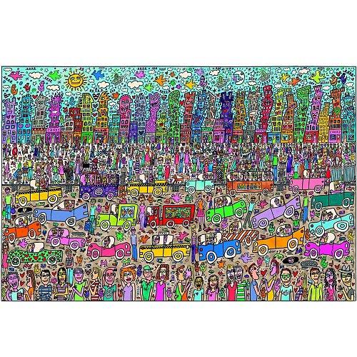 Puzzle James Rizzi : Rien n´est aussi beau que la ville Rizzi