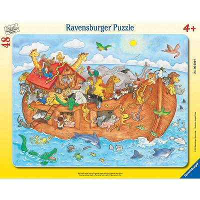 puzzle l 39 arche de no ravensburger 06604 48 pi ces puzzles autres animaux planet 39 puzzles. Black Bedroom Furniture Sets. Home Design Ideas