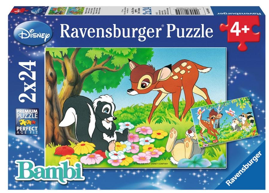 2 Puzzles - Bambi Ravensburger