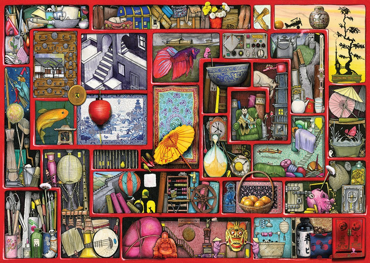 Puzzle Colin Thompson - The Red Box Ravensburger