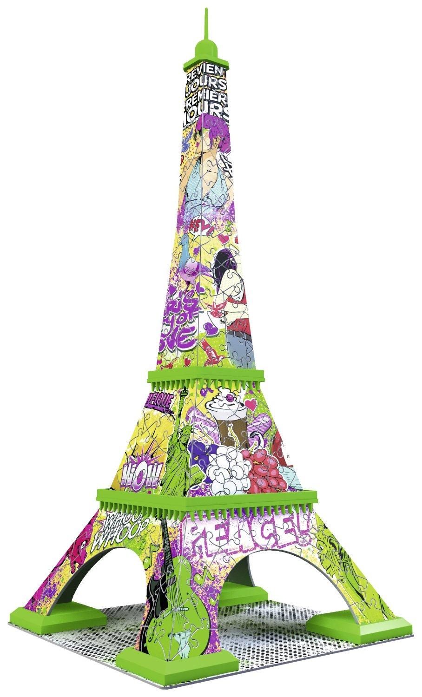 Puzzle 3D - Tour Eiffel Pop Art Ravensburger