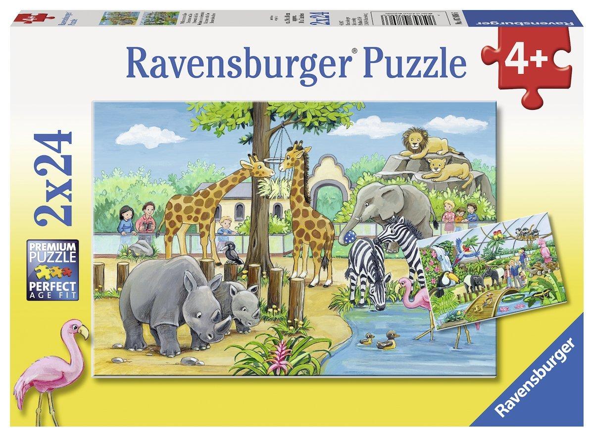 2 Puzzles - Au Zoo Ravensburger