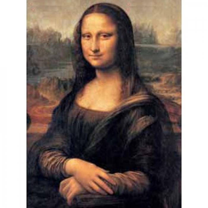 Puzzle Léonard de Vinci : Mona Lisa Muséum Clementoni
