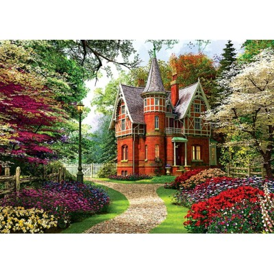 puzzle davison maison victorienne trefl 10355 1000 pi ces puzzles campagne planet 39 puzzles. Black Bedroom Furniture Sets. Home Design Ideas