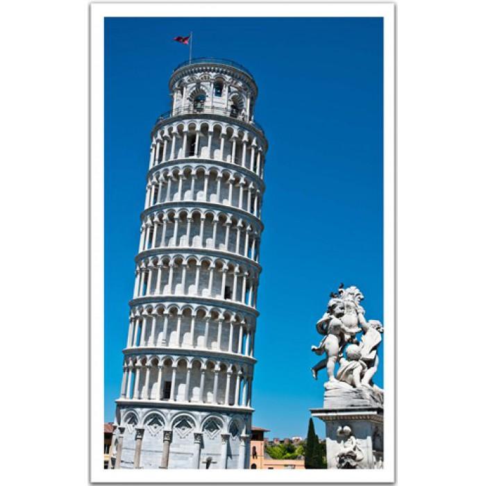 Puzzle 1000 pi ces puzzle en plastique italie tour de pise 41730 - Taille de la tour de pise ...