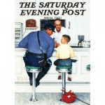 Puzzle  Master-Pieces-71408 Norman Rockwell: Runaway