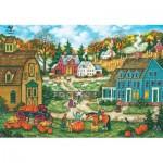 Puzzle  Master-Pieces-71665 Grandpa's Giant Pumpkin