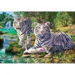 Puzzle  Master-Pieces-71668 Pièces XXL - Steve Read - Tiger Nirvana
