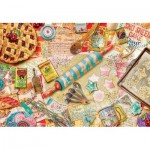 Puzzle  Master-Pieces-71669 Pièces XXL - Aimee Stewart - Pastry Party