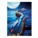 Puzzle  Master-Pieces-71680 Book Box - The Polar Express
