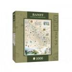Puzzle   Xplorer Maps - Banff, Canada
