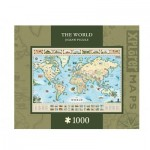 Puzzle   Xplorer Maps - The World