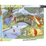 Nathan-86051 Puzzle cadre - Winnie l'ourson : Petit moment de détente