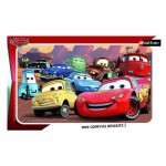 Nathan-86115 Puzzle Cadre - Cars